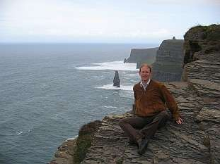 Jeroen Massar in Liscannor, County Claire, Ireland