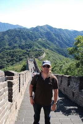 Jeroen Massar in Mutianyu, China