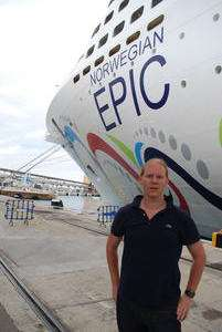 Jeroen Massar in Norwegian Epic