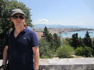 Jeroen Massar in Split, Croatia